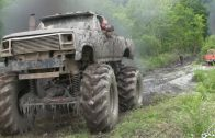 Mega Trucks Go Powerling Mudding